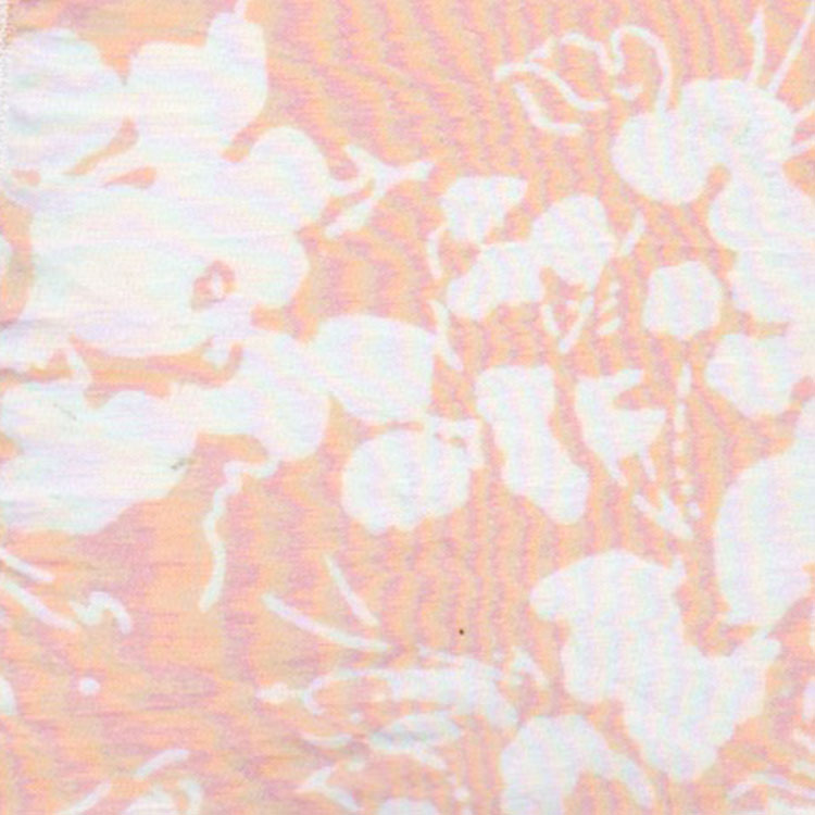 blush faded floral
