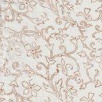 Brown Outline Floral